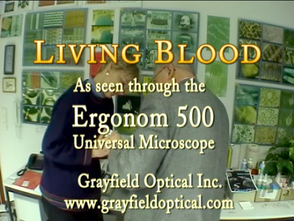 Living Blood through the Ergonom 500