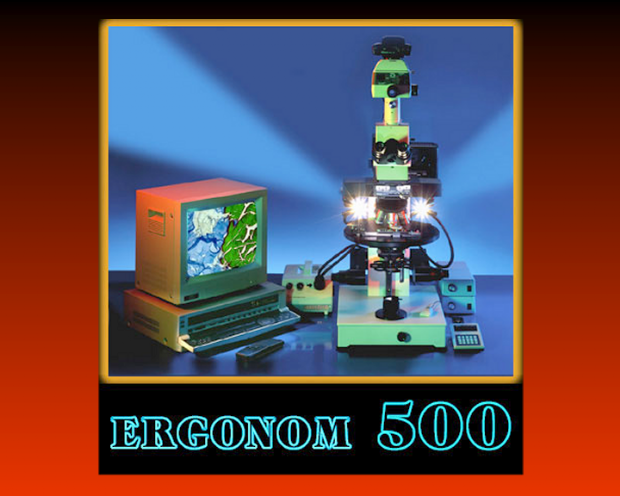 The Ergonom 500 Microscope